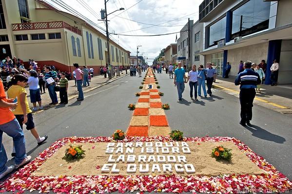 Festival of La Negrita in Cartago Costa Rica 9-5-10