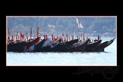 Canoes from BC and Alaska.