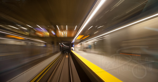 Skytrain. Vancouver, BC.