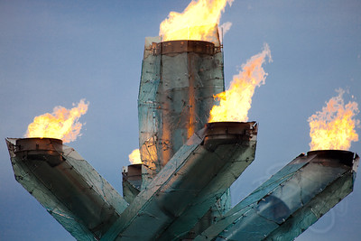 2010 Olympic Cauldron at the Vancouver waterfront