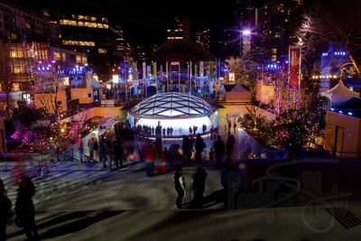 Scene from Robson Square.