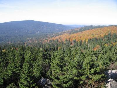 Uitzicht op Ochsenkopf 1024 mtr.
