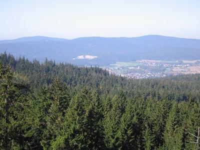Ochsenkopf en Schneeberg