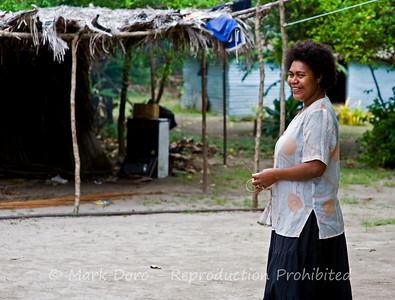 Nacula village, Nacula Island, Fiji