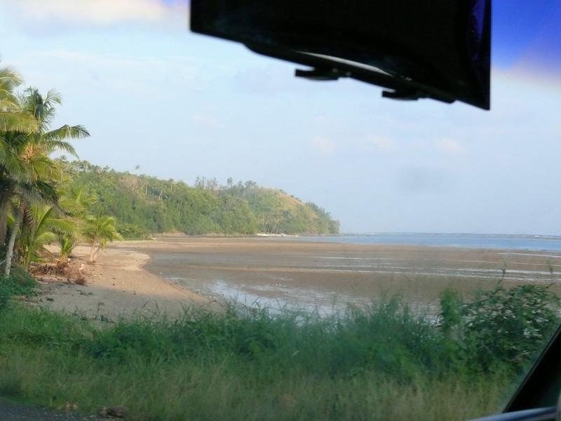 "On the way to Waidroka (""fresh water"") Resort, on the other side of Fiji."