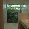 Glass walled shower !!!
