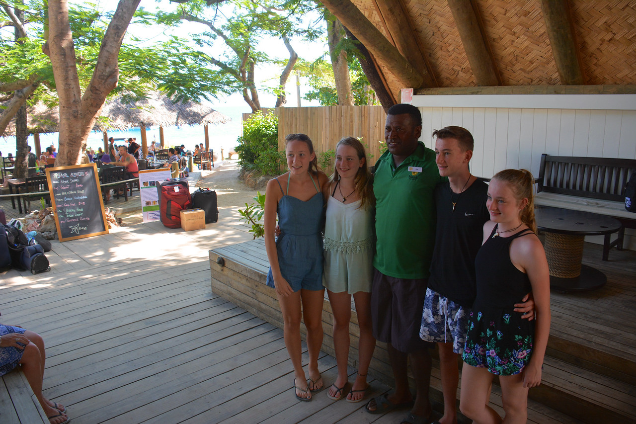 Nicole Emma Jim Ben Meg Fiji April 2016