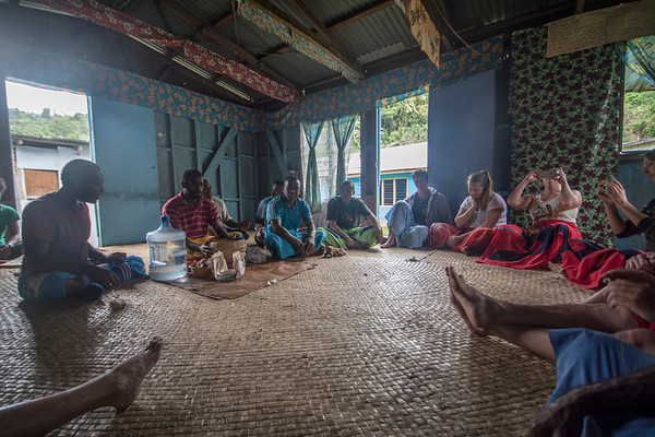 Traditional kava ceremony