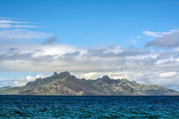 Yasawa Island mountain peaks