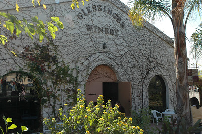 A winery by the train station