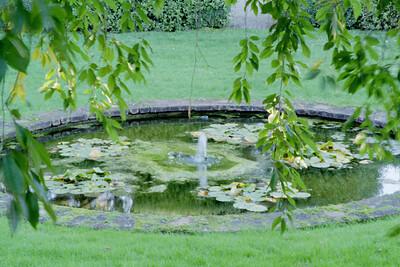 Slow-speed pond
