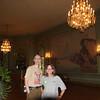 Ellen and Steve in the ballroom