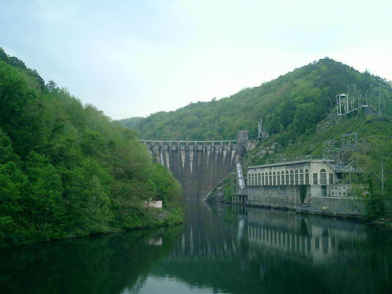 Dam at Deal's Gap