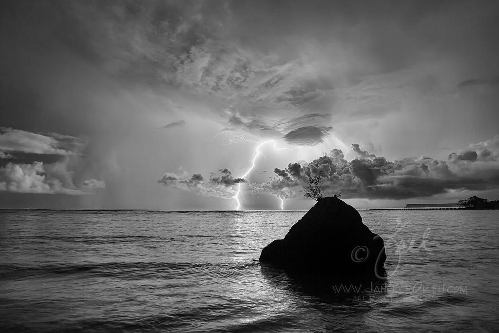 Lightning ©2013 Janelle Orth