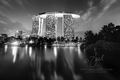 Marina Bay Sands Hotel  ©2015  Janelle Orth