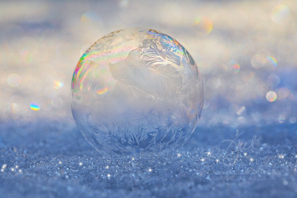 Crystalized Bubble  ©2018  Janelle Orth