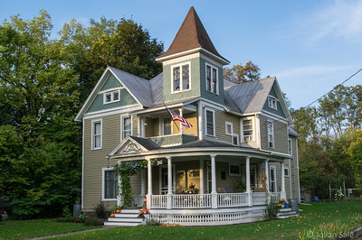 We stayed in a lovely old B&B in Burdett just outside of Watkins Glen.