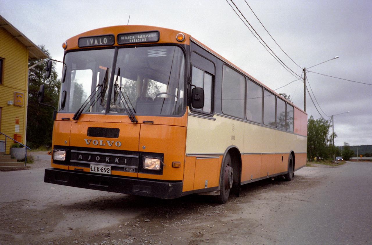 Terug met postbus en trein