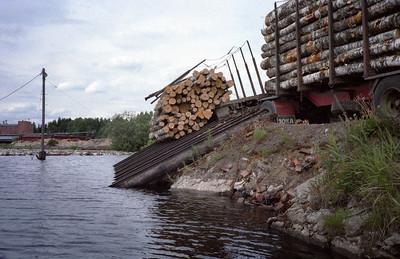 Staaldraad houtbundel