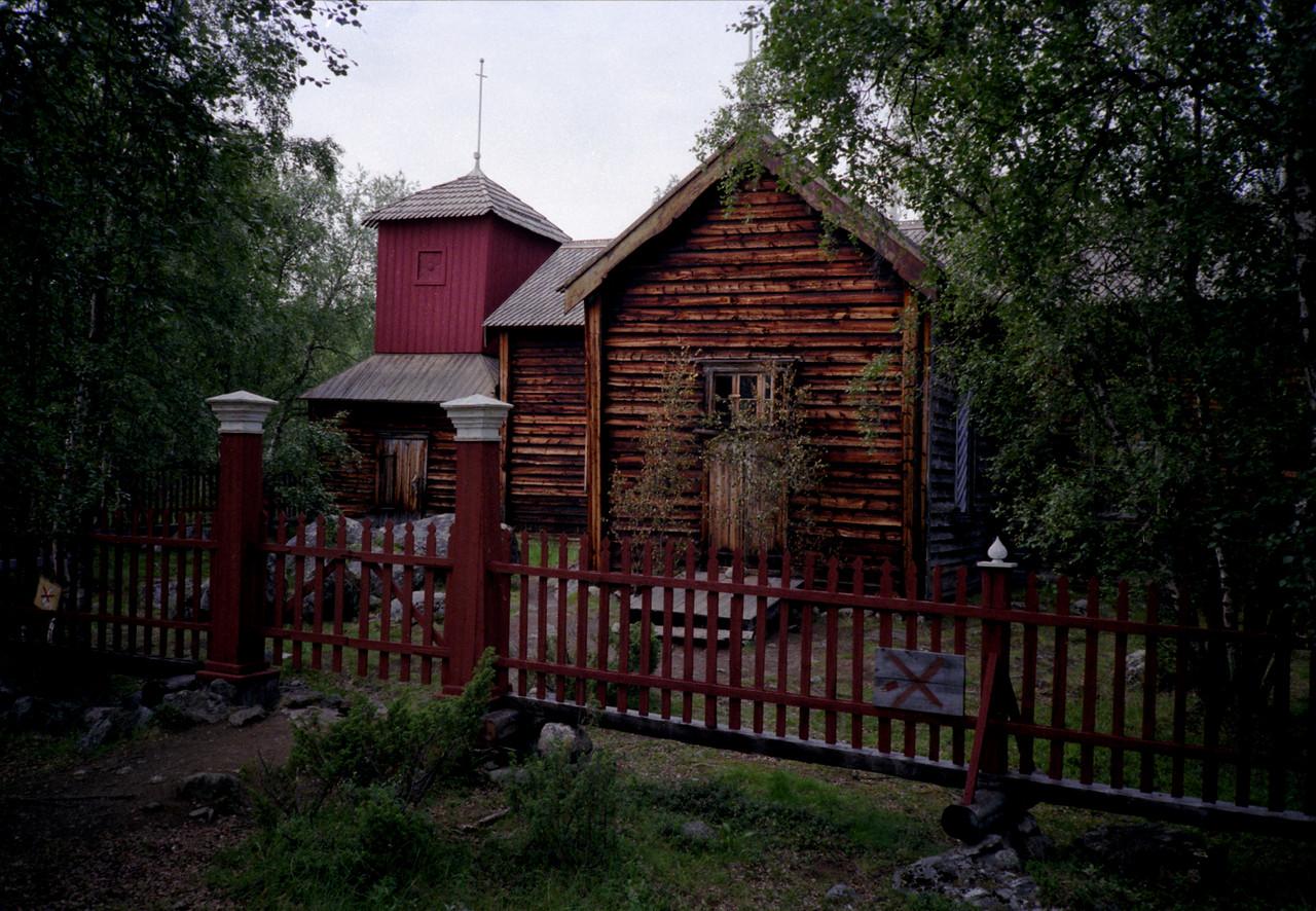 Pielppajarvi kerk
