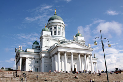Tuomiokirkko, Lutheran Cathedral, finished in 1852.