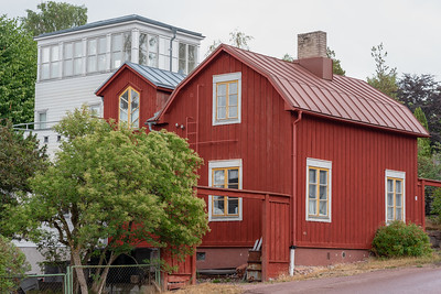 Åland July 2018, house.