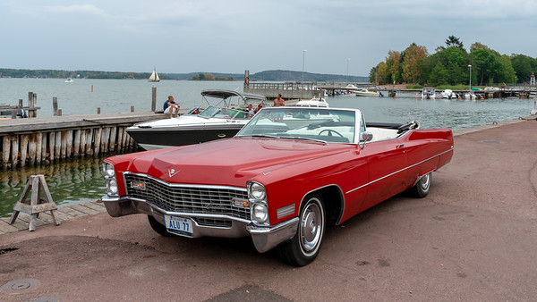 Åland July 2018, Cadillac, old cars gathering.