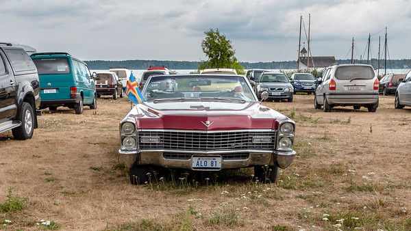 Åland July 2018, Cadillac in Mariehamn.