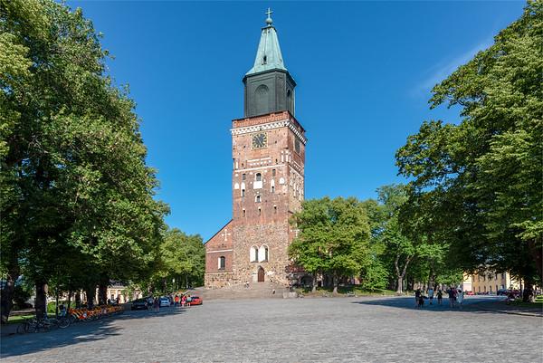 Finland, Turku 2018, Turku Cathedral.