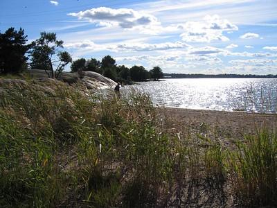 Helsinki's famous beach