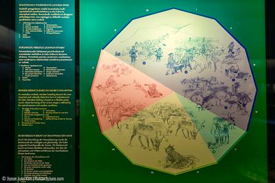 One year calendar of Sami people according to reindeers