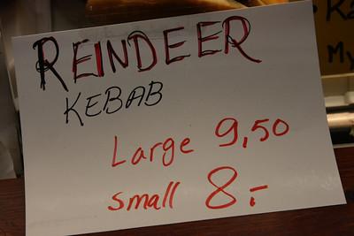 Raindeer kebab
