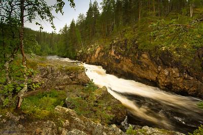 Kiutaköngäs. Oulanka National Park. Finland.