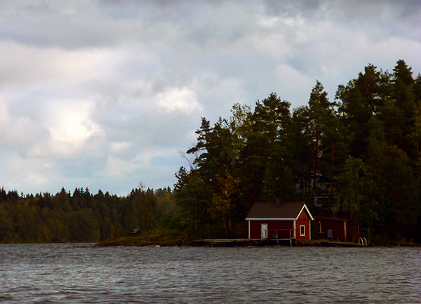 Canoeing in Tampere