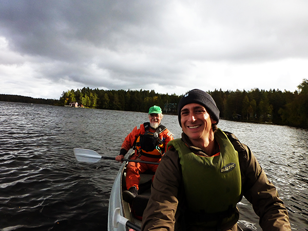 Kayaking in Tampere, Finland