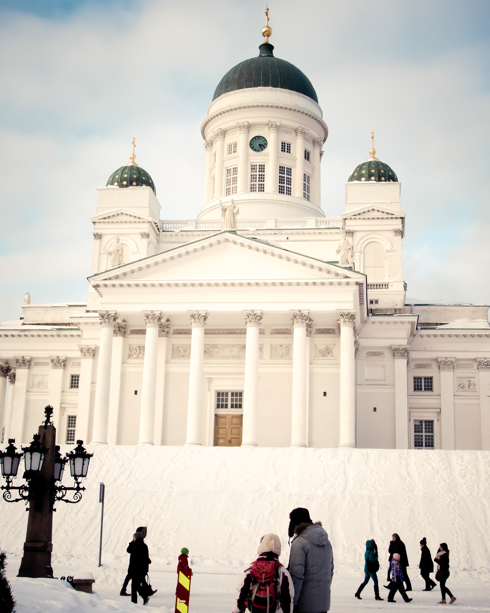 Looking at Architecture in Helsinki Finland