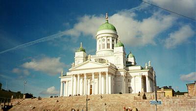 Tuomiokipkko Cathederal -- Helsinki, Finland