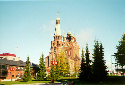 Orthodox Cathederal -- Tampere, Finland