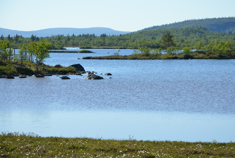Highway 971, on the road from Kirkenes to Inari