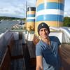 Laivahostel Borea, Turku (top deck)