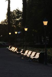 Esplanade park in the morning