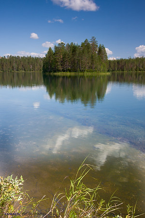 Hossa National Hiking Area (1). Finland.
