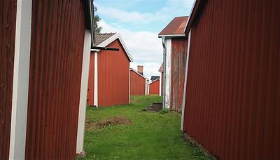 Gammelstad, Zweden.