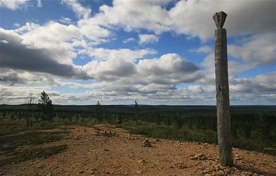 Kiilopään Huippu, Urho Kekkonen NP, Lapland, Finland.