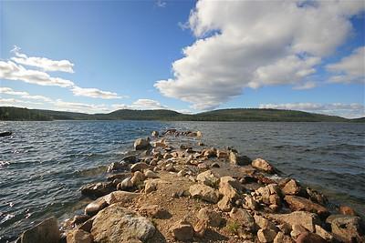Lake Inari, Lapland, Finland.