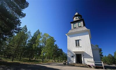 Sesköra Kyrke, Sesköra, Zweden.