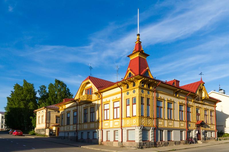 Altes Holzhaus in Kemi
