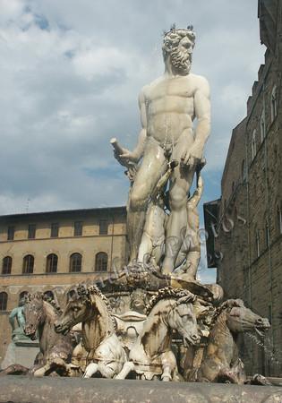 Piazza Signoria Fountain Neptuno