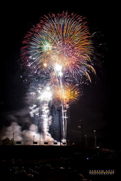Johnson City Fireworks 2012