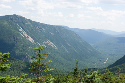View of Webster Cliffs and Crawford Notch.